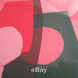 D'ambly Vintage Abstract Modernist Painting MID Century Pop Art Geometric Signed