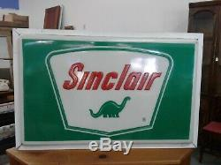 Gas Oil Vintage Collectable Antique Sinclair Canopy Sign Lighted Sign