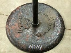ORIGINAL 1920's 1930's Vintage SOCONY Mobiloil GARGOYLE Sign Base Gas Oil OLD