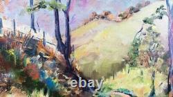 Original Impressionist Landscape Oil Painting Signed M. Crounse 16x20