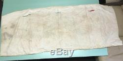 Rare 1954 Vtg Texaco Gas Station Cloth Banner Sign With Jumping Frog Gas Oil