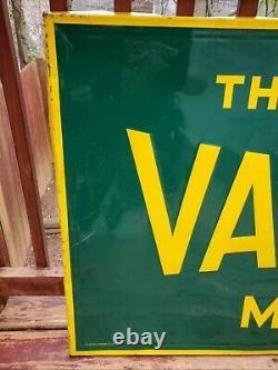 Vintage 1953 Worlds First Valvoline Motor Oil Sign