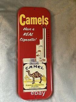 Vintage 1955 Pepsi-Cola Thermometer + Vintage Schmitt Oil Co + Retro Camel Therm