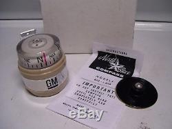 Vintage 70s nos rare original GM Compass gauge CHEVROLET promo auto accessory