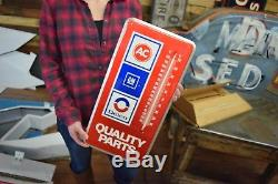 Vintage AC Delco GM Thermometer NOS in Box Gas Oil Station garage advertisemewnt