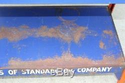 Vintage / Antique Standard Oil Gas / Service Station Motor Oil Advertising Rack