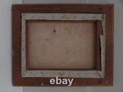 Vintage Framed Abstract Oil Painting MID Century Studies Art Work Signed Nola