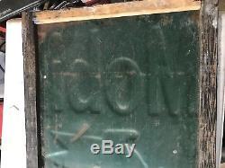 Vintage Mobil oil gas sign Porcelain great condition