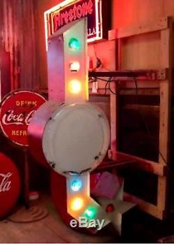 Vintage Neon Sign, Arrow, Man Cave, Restaurant, Oil & Gas