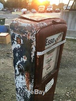 Vintage Original Gilbarco Gas Pump Garage Oil Car Truck Sign