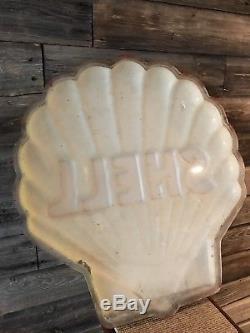 Vintage Original Shell Oil Sign