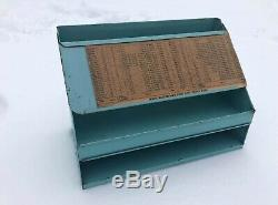 Vintage Rare Ford Car Electrical Wire Display Rack Oil Sign