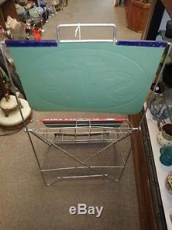 Vintage STP oil and gas treatment display stand