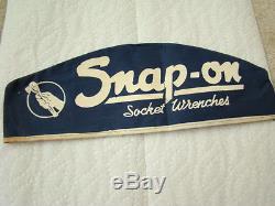 Vintage Snap-On Tools Blue-Point Mechanics Skull Cap Auto Parts Oil Gas
