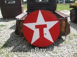 Vintage Texaco Gas Station Motor Oil Advertising Light Up Sign