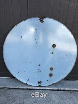 Vintage porcelain 30 LIONS INTERNATIONAL gas oil auto sign