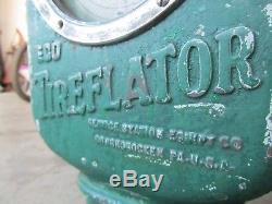 Vtg Eco Tireflator Air Meter Gas Oil Service Station Sign RARE 1930's Model 39
