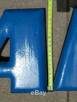 Vtg Goodyear Porcelain Tire Gas Oil Station Garage Service Sign Full 18 Set